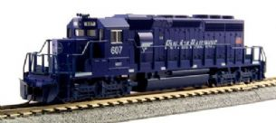 Kato (USA) 176-4817 EMD SD40-2 Early Pan Am Railways 607